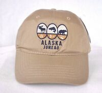 d8222d002d0  JUNEAU ALASKA  FLY FISHING HUNTING BALL CAP HAT  OURAY SPORTSWEAR   embroidered