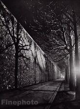 1932/68 Vintage LA SANTE Prison Wall Evening Paris France Photo Art BRASSAI 8x10