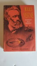 Jules Verne - Portrait of a Prophet, Russell Freedman 1965 Ex-Library/Discarded