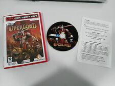 OVERLORD JEU DE POUR PC DVD-ROM ESPAGNOL CODEMASTERS INTERACTIVE RÉSEAU