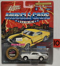JOHNNY LIGHTNING MUSCLE CARS SERIES 8 1970 SUPER BEE WHITE W+