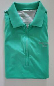 Peter Millar Sun Comfort Women's Golf Shirt Size Medium Green