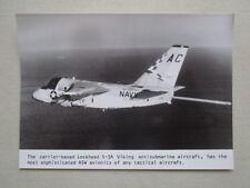 PHOTO PRESSE LOCKHEED S-3A VIKING ANTISUBMARINE AIRCRAFT ASW USS SARATOGA CVW-3