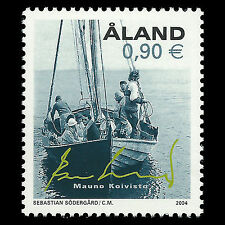 Aland 2004 - President Mauno Koivisto Ships - Sc 223 MNH