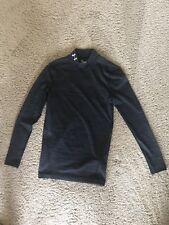 Ua Under Armour Men's Coldgear Compression Mock Shirt Small Black 1280795 Nwt