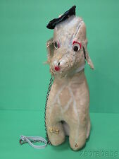"""Vintage Jee Bee Creations French Poodle Dog Googly 16"""""""