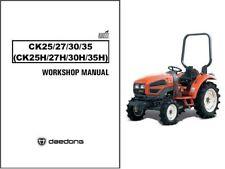 heavy equipment manuals books for kioti tractor for sale ebay rh ebay com Kubota Tractors Kioti LK3054 4WD