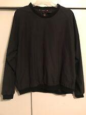 Sunice Vintage 90s Golf Logo Mens Sport Jacket Pullover Coat Black Mens Size XXL