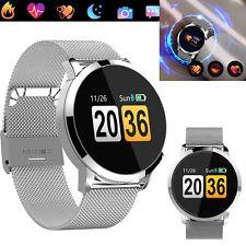 Bluetooth Wrist Smart Watch Heart Rate Monitor For Huawei P20 Pro P20 Lite LG G6