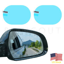 2 x Car Anti Fog Rainproof Rear View Mirror Waterproof Protective Film Sticker