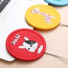 Silicone USB Cup Warmer Coaster Coffee Mug Heating Mat Electric Heating Coaster