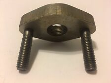 Toyota Bung 02 Oxygen Sensor Flange With Studs (1 Bung) 3/8 thick flange