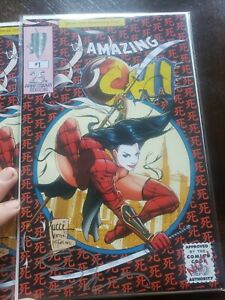 Billy tucci the amazing shi #1 (2019); BILLY TUCCI SIGNED RARE NM