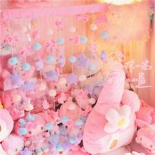 Cute Bow Stars Moon Door Curtain Bedroom Princess Room Wall Decor Girls Gift