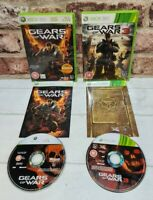 GEARS OF WAR  1 & 3  Xbox 360 Xbox One Compatible Shooter Game Bundle - Free P&P