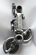 CAMPAGNOLO GRAN SPORT 1012 Steel/ Chromed Brass Rear Derailleur Road Bike VGC