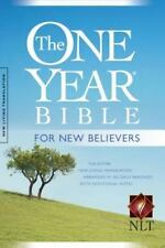 The One Year Bible for New Believers NLT by