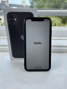 Apple iPhone 11 Black - 64GB (O2) A2221 (CDMA + GSM)