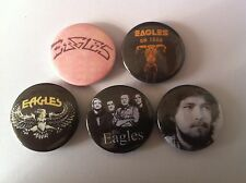 5 Eagles Pin Button badges 25mm Hotel California Take it Easy Don Henley Ol' 55