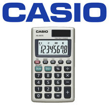Casio - HS85TE Pocket Calculator With Tax & Exchange Calculations