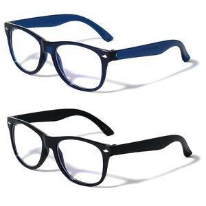 2 Pairs Kids Blue Light Blocking Glasses, Anti Eyestrain & UV Protection, Comput