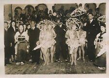 JAPON c. 1930 - Ambassadeurs Soirée Danseuses - PRM 251
