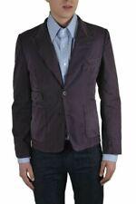 Dolce & Gabbana Men's Purple Two Buttons Blazer Size US 38 IT 48