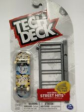 Tech Deck ELEMENT Street Hits + Obstacle Bike Rack
