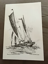 """12"""" x 8"""" PETER J STUCKEY """"PROVIDENT"""" PERSONAL COLLECTION MARITIME PRINT"""