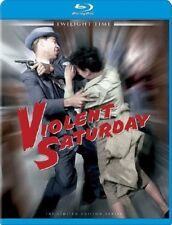 Violent Saturday (1955) Blu-ray NEW Lee Marvin Twilight Time