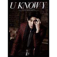 TVXQ Tohoshinki Yunho Solo Mini Album U Know Y  CD DVD Photobook Bigeast Limited