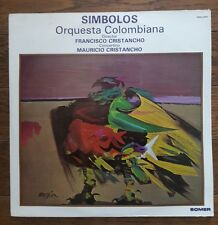 SIMBOLOS Orquesta Columbiana CHRISTANCHO LP import vinyl SOMER Columbia 2LP RARE