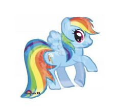 "My Little Pony Rainbow Dash 28"" Anagram Balloon Birthday Party Decorations"