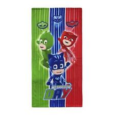 Boys Girls Official PJ Masks Bath Beach Holiday Swim Quick Easy-Dry Towel
