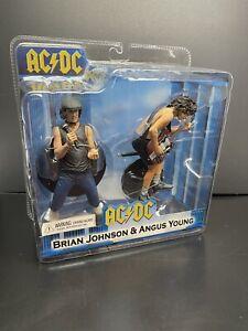 AC/DC Figures 2-Pack Sealed Set, NECA