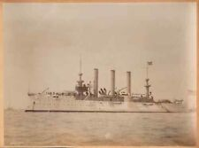 More details for large scarce photo - american battleship