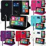Housse Etui Coque Portefeuille Support Video Nokia Lumia 530/ Lumia 530 Dual Sim