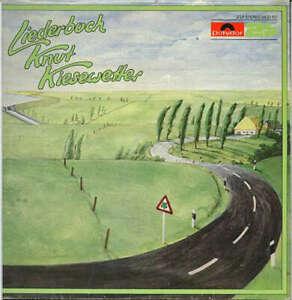 Knut Kiesewetter Liederbuch 2xLP Comp Vinyl Schallplatte 162663
