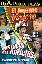 EL AGENTE VIAJERO/ DOS LOCOS EN APRIETOS USED - VERY GOOD DVD