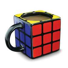 Rubik's Cube 3D Mug Puzzle Game Coffee Tea 11 oz Drinkware Rubick Novelty