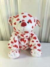 Ty Pluffies Dreamsy Heart Teddy Bear Lovey Plush Soft Toy Stuffed Animal