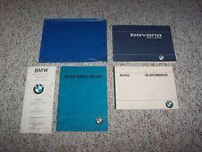 1973 BMW Bavaria Factory Original Owner's Owners User Manual Book Set