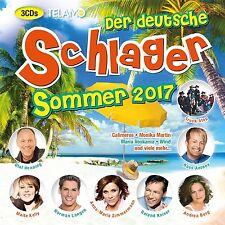 DER DEUTSCHE SCHLAGER SOMMER 2017  3 CD NEU