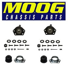 For Chevy Cadillac Pair Set of 2 Front Upper Bolt-in Type Ball Joints Moog K5208