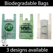 More details for 100% biodegradable plastic carrier bags * eco friendly * large shopping bags*