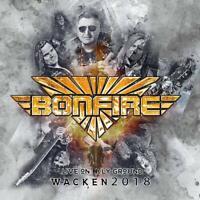 BONFIRE - LIVE ON HOLY GROUND-WACKEN 2018   CD NEU