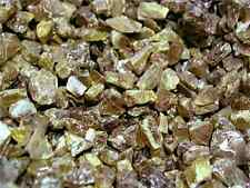 Sphene titanite mine rough crystal Baja,Mexico rare 1 ounce lot 15 to 30 pieces
