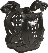 Fly Racing Black Stingray Roost Guard Motocross Offroad Riding Chest Protector