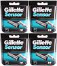 40 Gillette SENSOR Rasierklingen 4x10 Stück Klingen Pack in OVP