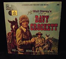 Story of Davy Crockett Walt Disney Record and Book #360